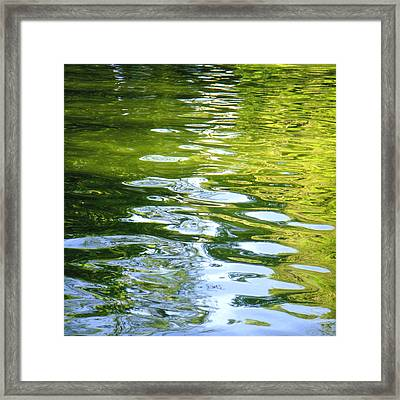 Reflections On Madrid Framed Print by Roberto Alamino