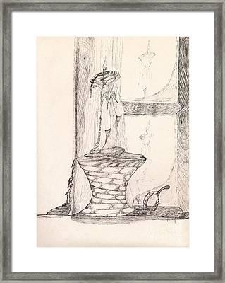 Reflections... Framed Print by Robert Meszaros