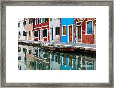 Reflections Framed Print by Yuri Santin