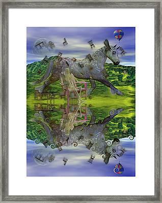 Reflective Oz Framed Print by Betsy Knapp