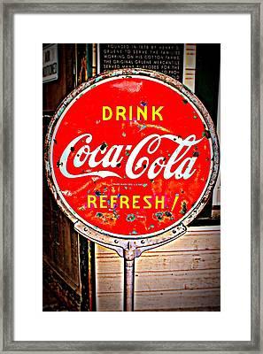Refresh Framed Print by Beth Vincent