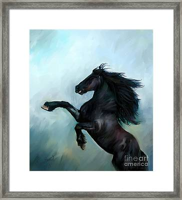 Regaining Strength Framed Print by Tamer and Cindy Elsharouni