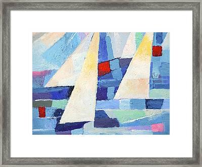 Regatta Marine Framed Print by Lutz Baar
