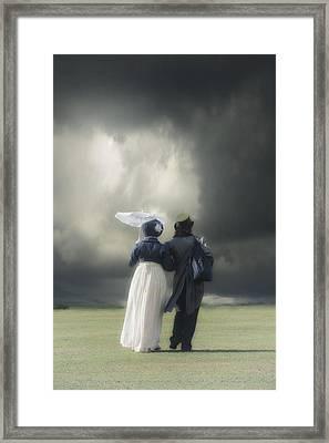 Regency Couple Framed Print by Joana Kruse