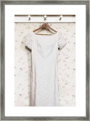 Regency Gown Framed Print by Margie Hurwich