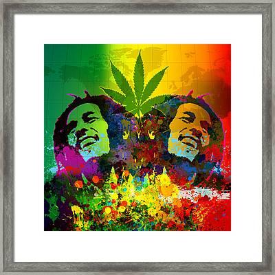 Reggae Pop Framed Print by Gary Grayson