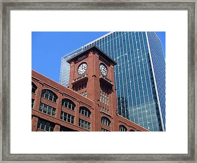 Reid Murdoch Building Framed Print by Curtis Krusie