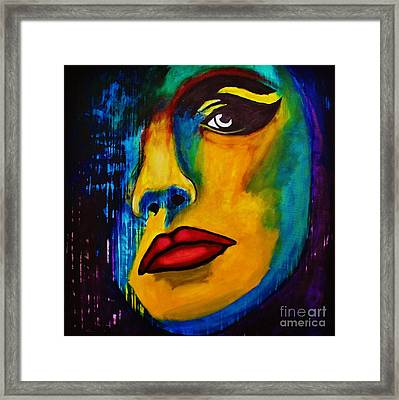 Reign Over Me Framed Print by Michael Cross