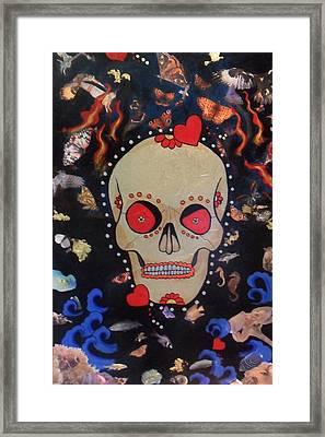 Reincarnation Framed Print by Jennifer  Gollings
