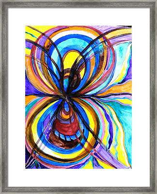 Relationship Framed Print by Teal Eye  Print Store