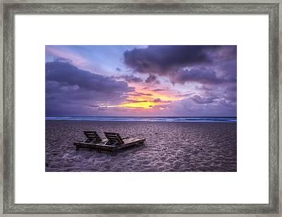 Relax Framed Print by Debra and Dave Vanderlaan