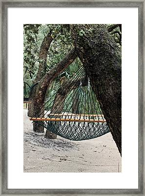 Relax In Florida Framed Print by JC Findley