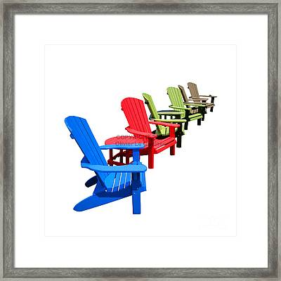 Relax Framed Print by Olivier Le Queinec