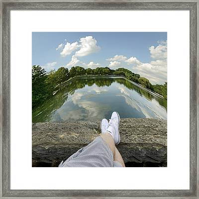 Relax Framed Print by Steven  Michael