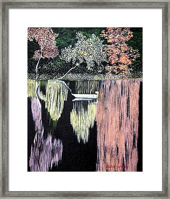 Relaxation Framed Print by Maria Iliou