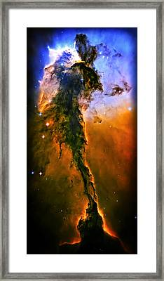 Release - Eagle Nebula 3 Framed Print by The  Vault - Jennifer Rondinelli Reilly