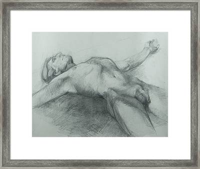 Release Framed Print by Cynthia Harvey