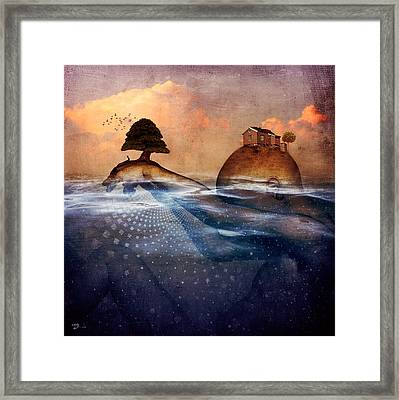 Release Me Framed Print by Cameron Gray