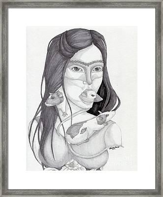 Release The Inner Spirit Framed Print by Kirsten Thomas