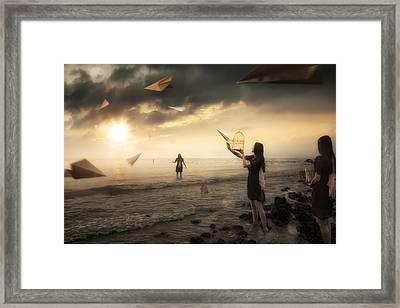 Released Framed Print by Christophe Kiciak