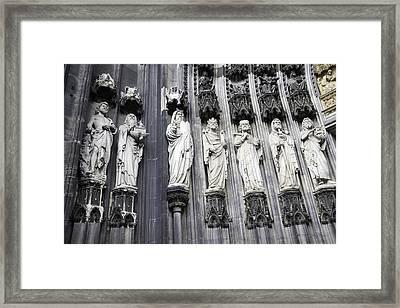 Religious History 2 Framed Print by Teresa Mucha