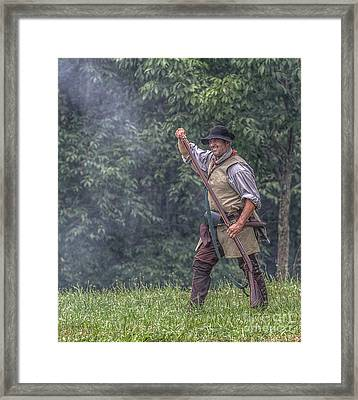 Reloading Grand Encampment  Framed Print by Randy Steele