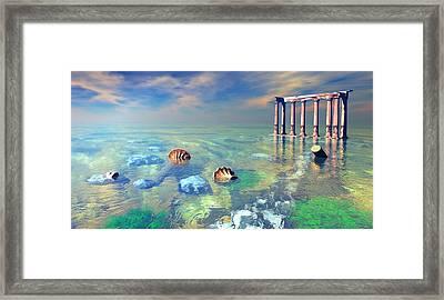 Remains Of The Past Framed Print by Marina Likholat