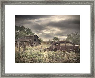 Remember When Framed Print by Bobby Hines