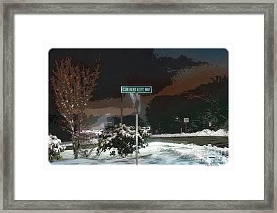 Remember Bert V1 Framed Print by Megan Dirsa-DuBois
