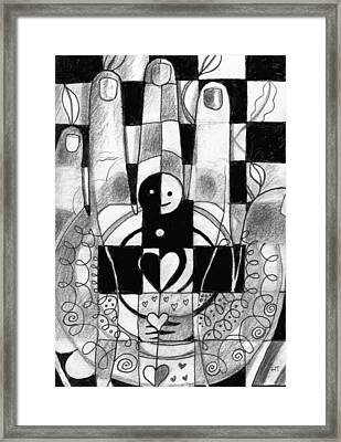 Remember To Love And Nurture Framed Print by Helena Tiainen