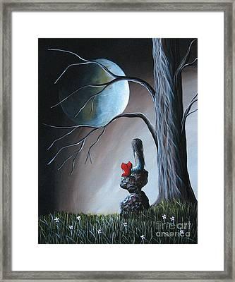 Surreal Art By Shawna Erback Framed Print by Shawna Erback
