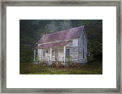 Remembering Framed Print by Debra and Dave Vanderlaan