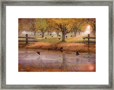 Remembering Everlasting Peace Framed Print by David M ( Maclean )