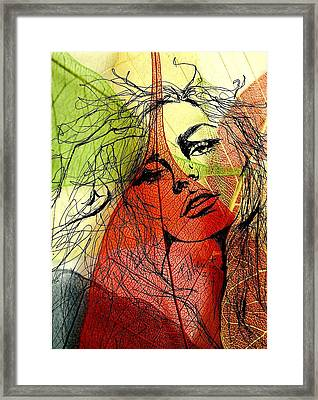 Remembering Fall Framed Print by P J Lewis