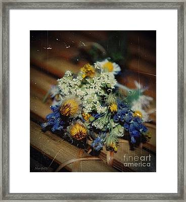 Remembering July Framed Print by Marija Djedovic