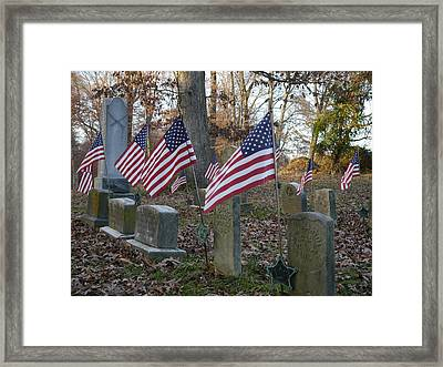 Remembering The Heroes Of Old Framed Print by Richard Reeve