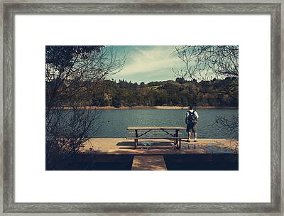 Remembering When Framed Print by Laurie Search