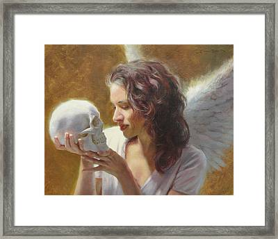 Remembrance Framed Print by Anna Rose Bain