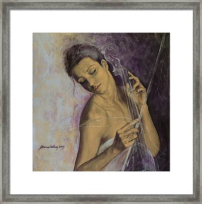 Remembrance Framed Print by Dorina  Costras