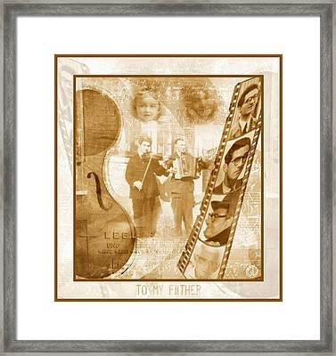 Remembrance Of My Father Framed Print by Gun Legler