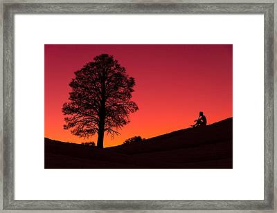 Reminiscing Framed Print by Chad Dutson