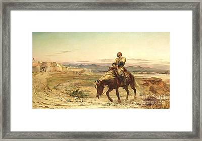 Remnants Of An Army Framed Print by Pg Reproductions