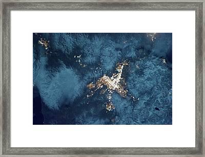 Reno Framed Print by Nasa
