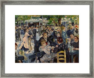 Renoir Moulin De Galette Framed Print by Granger