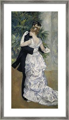 Renoir, Pierre-auguste 1841-1919. Dance Framed Print by Everett