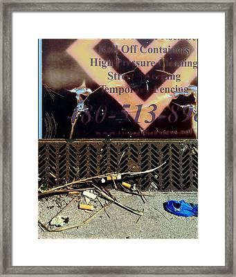 Renovation Wonderland 3 Framed Print by Marlene Burns