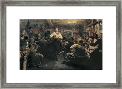 Repin, Ilya Yefimovich 1844-1930. The Framed Print by Everett