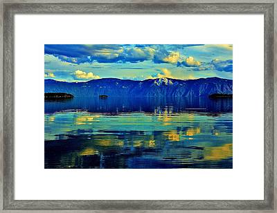 Repose Framed Print by Benjamin Yeager