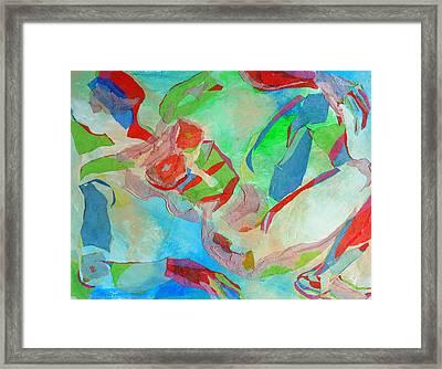 Repose Framed Print by Diane Fine