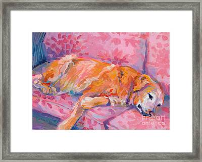 Repose Framed Print by Kimberly Santini